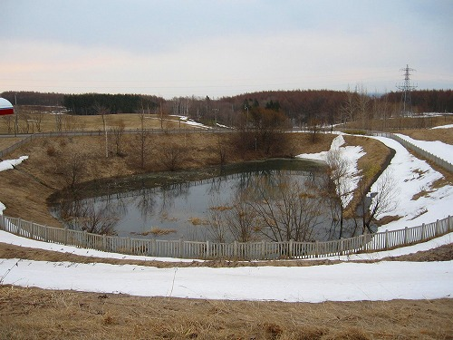 道立オホーツク公園調整池