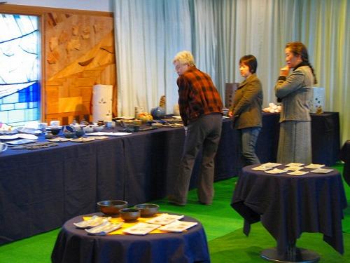 陶芸作品展2009