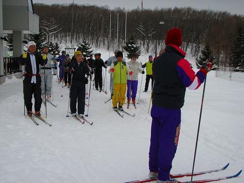 歩くスキーサークル
