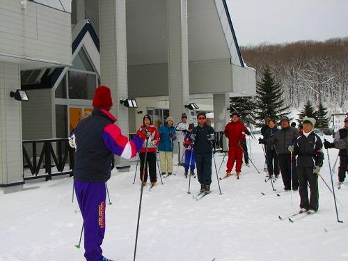 第1回歩くスキーサークル