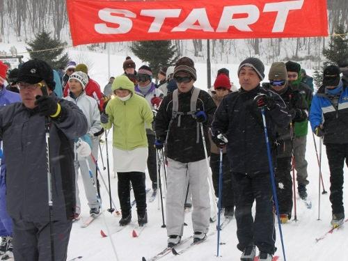 歩くスキーの集い