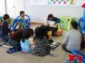 子供たちが自然と集中しています。