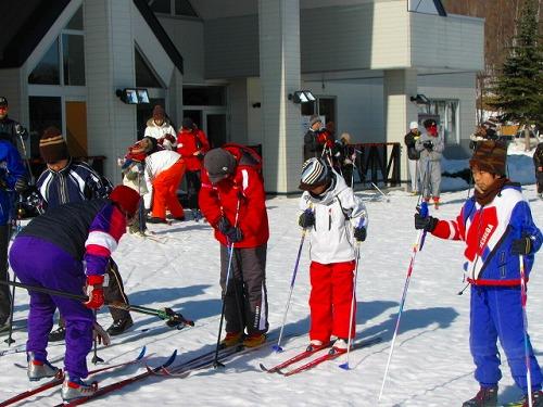 歩くスキーサークル事業